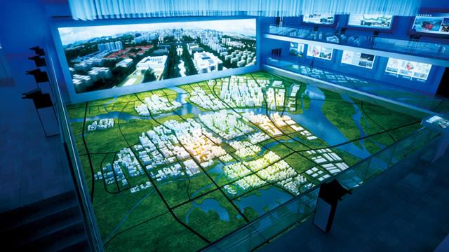 成都城市规划馆图片