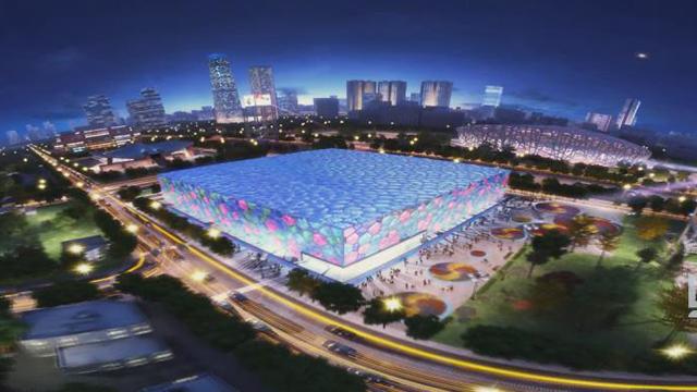 2008北京奥运会水立方三维动画