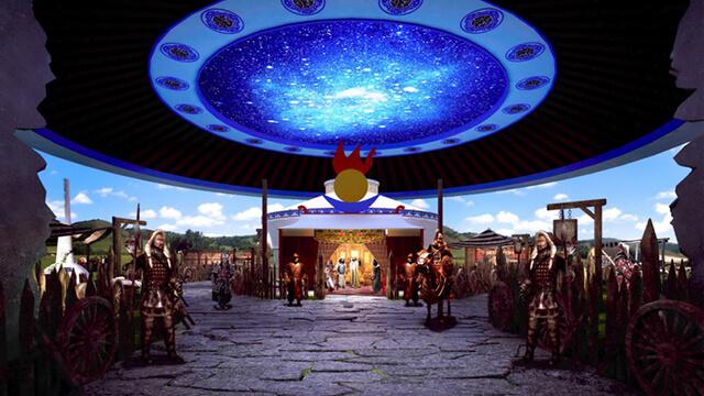 蒙古源流文化长廊展示中心