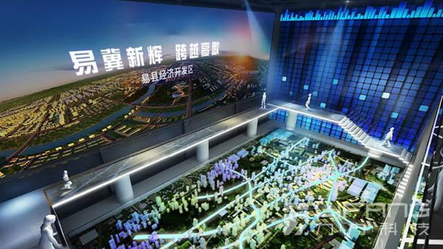河北易县规划馆