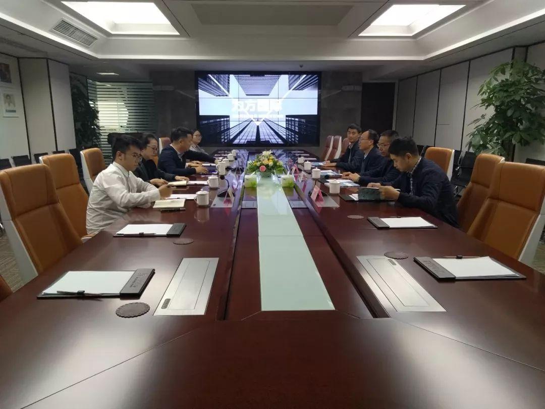 龙泉驿区城投公司董事长李智一行走访调研力方集团