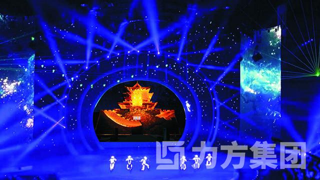 《千年藏古情》大型情景歌舞剧