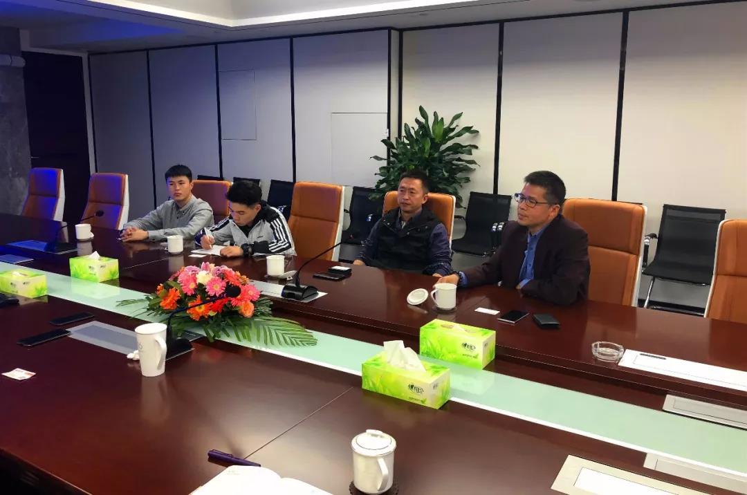 锐丰科技董事总经理薛凯一行来力方考察交流