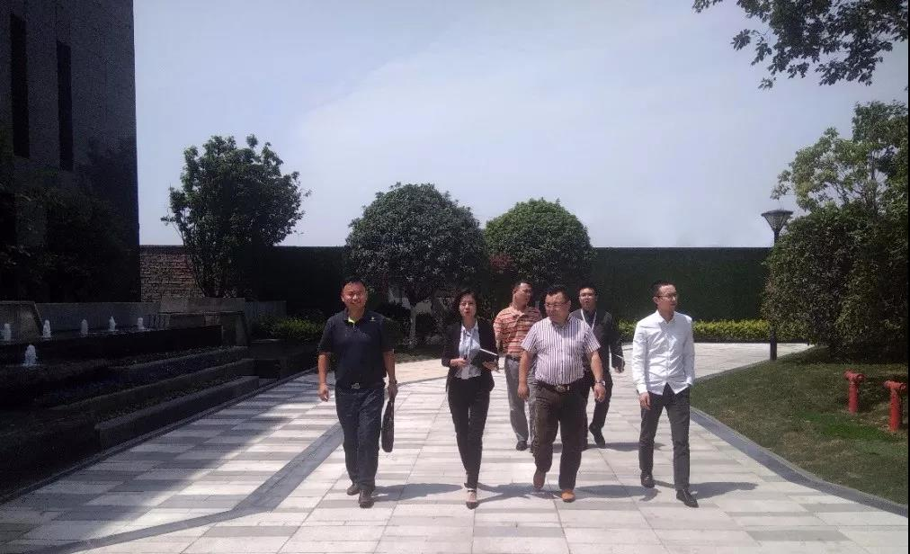 省科技厅网络及信息化研究所领导一行调研力方集团