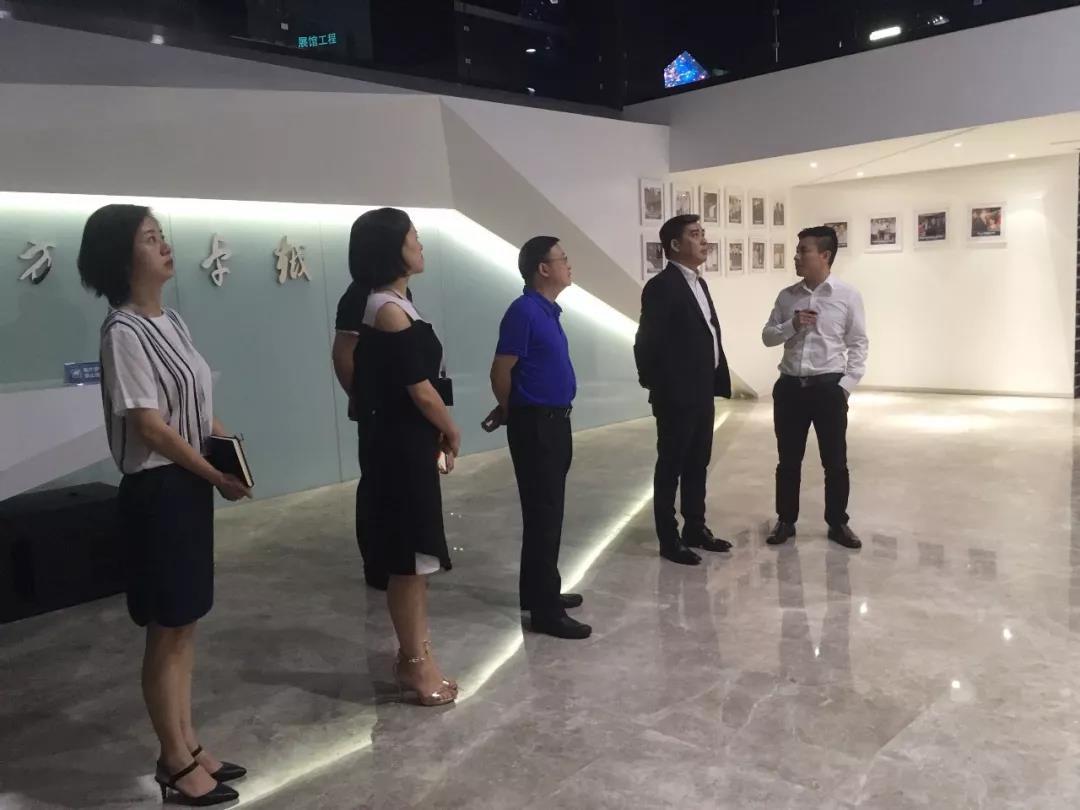国家文物局博物馆与社会文物司司长罗静一行莅临力方参观考察