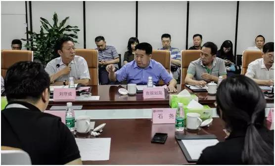 成都市委常委刘守成率团考察力方并指导工作
