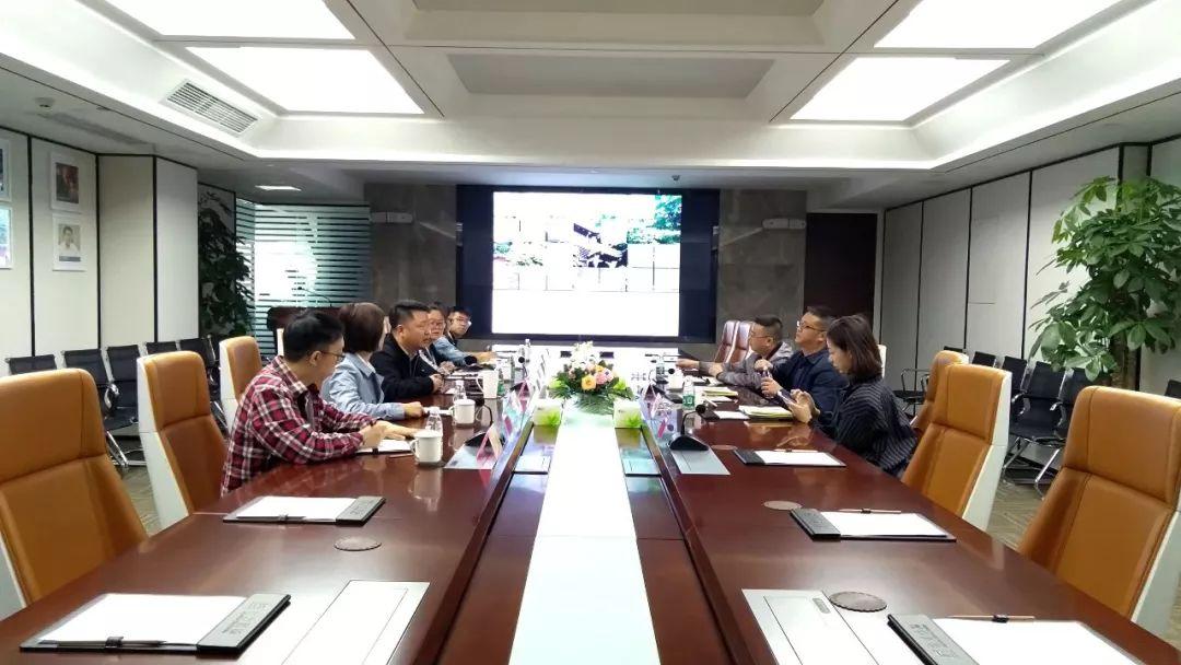 都江堰市青城投董事长巫红坤一行走访调研力方集团