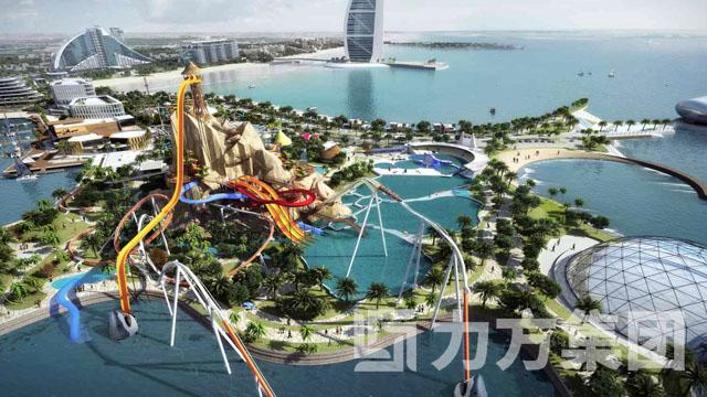 阿联酋迪拜海中主题公园