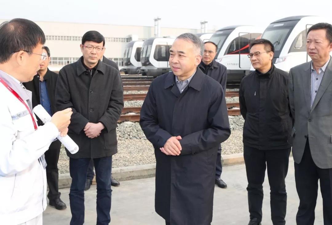 范锐平率队调研轨道交通产业生态圈建设,TOD重构城市运营方式