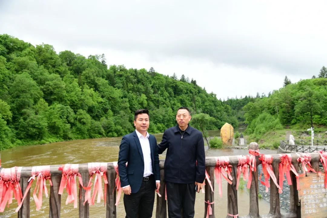 力方集团赴老黑河遗址考察,科技赋能长白山红色文化产业发展